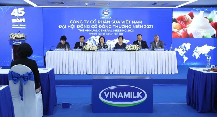 Tổng giám đốc Vinamilk: Nỗ lực hoàn thành mục tiêu cam kết trong Đại hội đồng cổ đông ảnh 1
