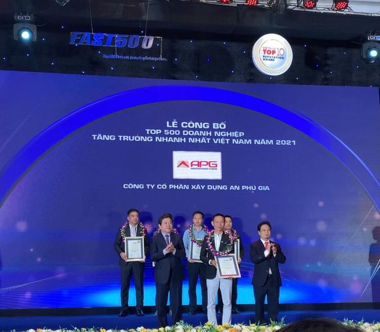 An Phú Gia xuất sắc vào Top 15 doanh nghiệp tăng trưởng nhanh nhất Việt Nam ảnh 1