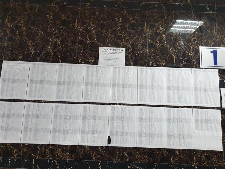 Hà Nội: Hoàn thành niêm yết danh sách cử tri tại các khu vực bầu cử ảnh 4