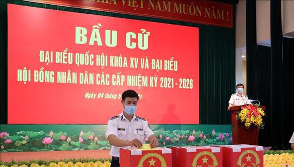 Bà Rịa-Vũng Tàu tổ chức bầu cử sớm cho cán bộ, chiến sĩ ảnh 1