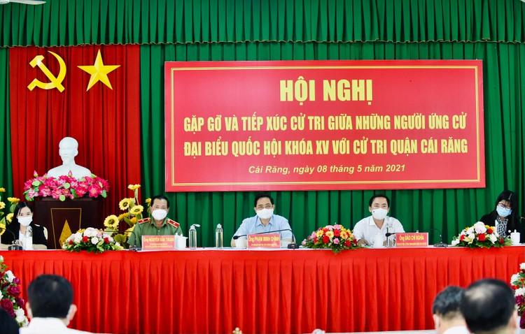 Thủ tướng Phạm Minh Chính tiếp xúc cử tri tại TP. Cần Thơ ảnh 1