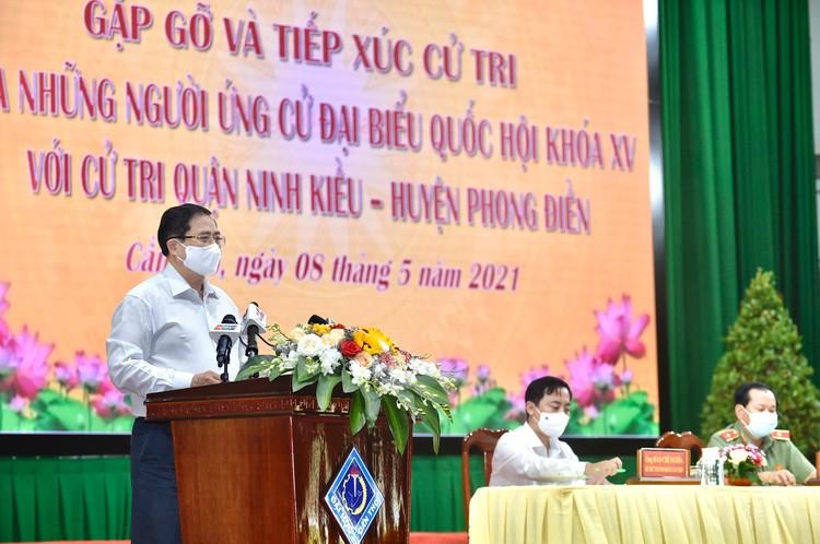 Thủ tướng Phạm Minh Chính tiếp xúc cử tri tại TP. Cần Thơ ảnh 6