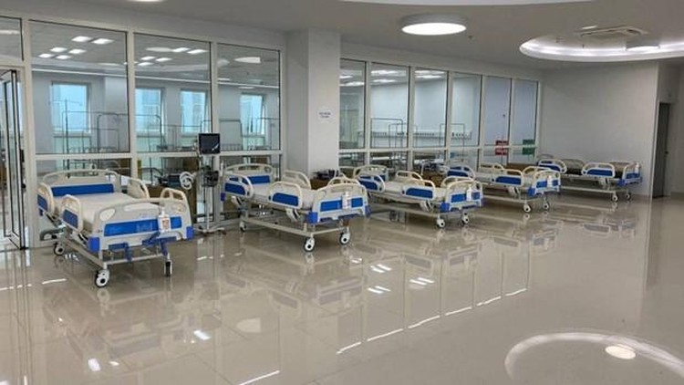 Bệnh viện Bạch Mai cơ sở 2 chia lửa, tiếp nhận 200 ca COVID-19 ảnh 1