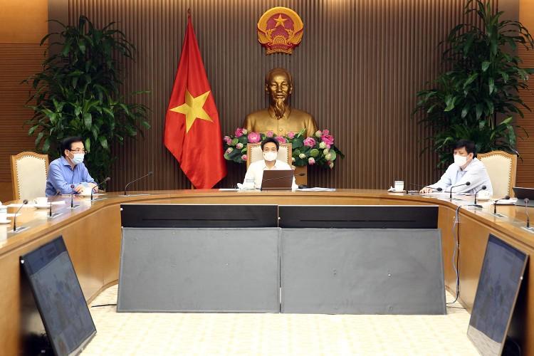 Thủ tướng Chính phủ Phạm Minh Chính triệu tập cuộc họp khẩn với 6 tỉnh biên giới Tây Nam về phòng chống dịch ảnh 3