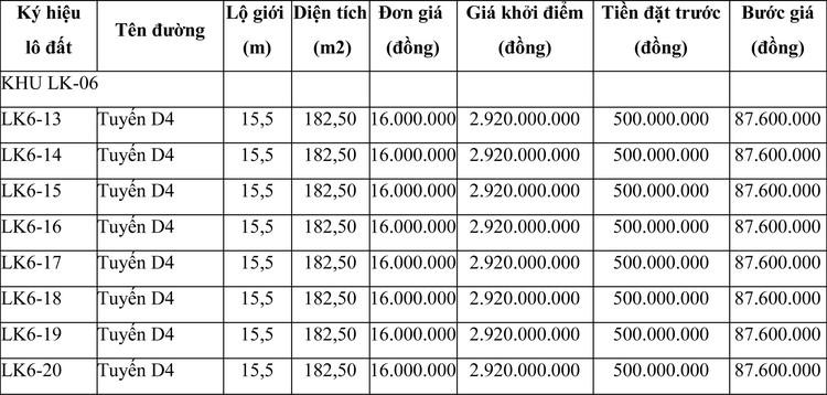 Ngày 19/6/2021, đấu giá quyền sử dụng đất tại thành phố Quy Nhơn, tỉnh Bình Định ảnh 1