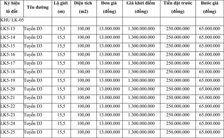 Ngày 5/6/2021, đấu giá quyền sử dụng đất tại thành phố Quy Nhơn, tỉnh Bình Định ảnh 1