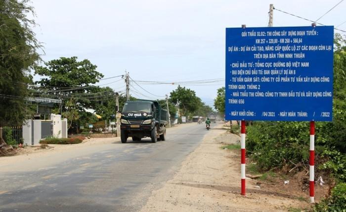 Cải tạo, nâng cấp Quốc lộ 27 qua Ninh Thuận ảnh 1