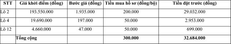 Ngày 21/05/2021, đấu giá máy móc thiết bị tại tỉnh Ninh Thuận ảnh 2
