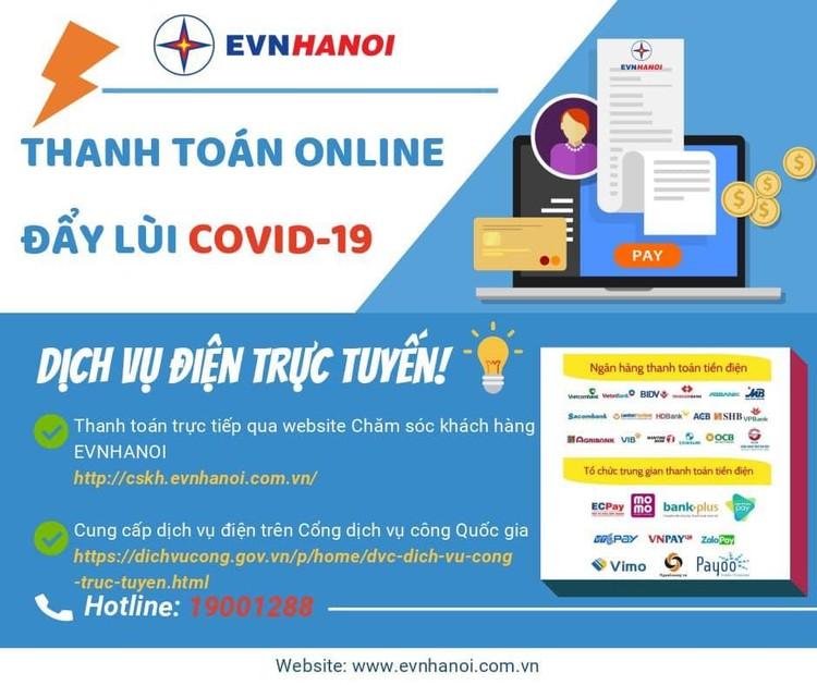 Thanh toán tiền điện trực tuyến giải pháp hữu hiệu phòng chống dịch bệnh Covid - 19 ảnh 3