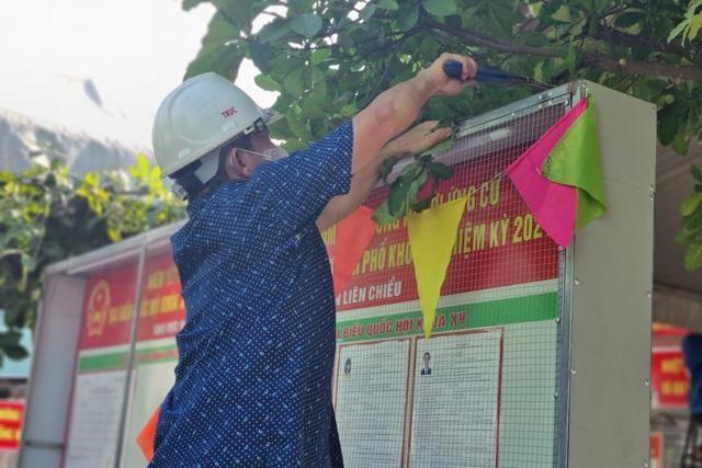 Những điểm bầu cử đặc biệt ở Đà Nẵng giữa mùa dịch Covid-19 ảnh 3