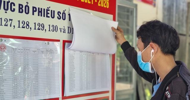 Những điểm bầu cử đặc biệt ở Đà Nẵng giữa mùa dịch Covid-19 ảnh 4