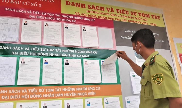 Cà Mau: Bầu cử sớm trên đảo Hòn Khoai, Hòn Chuối ảnh 8