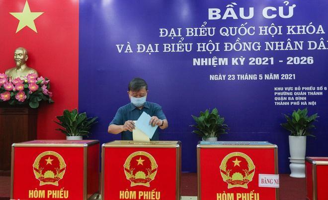 Tổng bí thư, Chủ tịch nước, Thủ tướng Chính phủ, Chủ tịch Quốc hội hoàn thành bỏ phiếu bầu cử ảnh 10