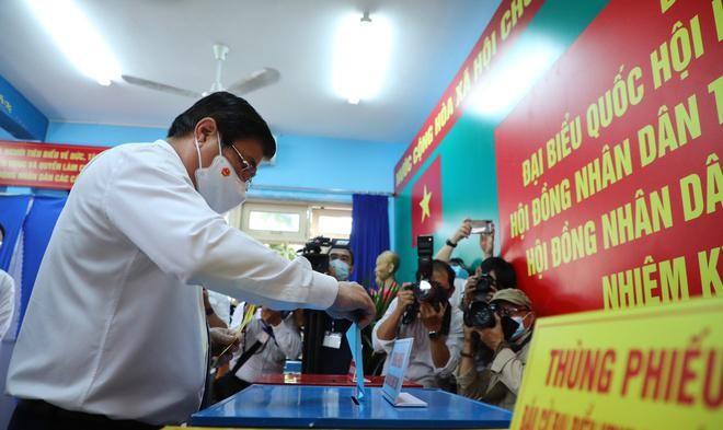 Tổng bí thư, Chủ tịch nước, Thủ tướng Chính phủ, Chủ tịch Quốc hội hoàn thành bỏ phiếu bầu cử ảnh 14