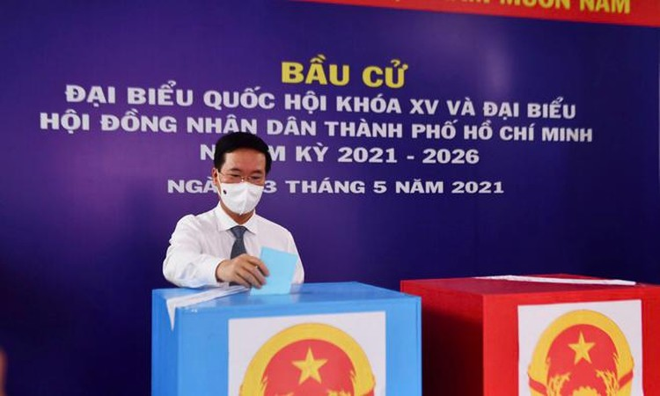 Tổng bí thư, Chủ tịch nước, Thủ tướng Chính phủ, Chủ tịch Quốc hội hoàn thành bỏ phiếu bầu cử ảnh 8