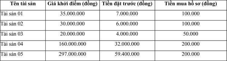 Ngày 4/6/2021, đấu giá 5 xe ô tô tại tỉnh Long An ảnh 1