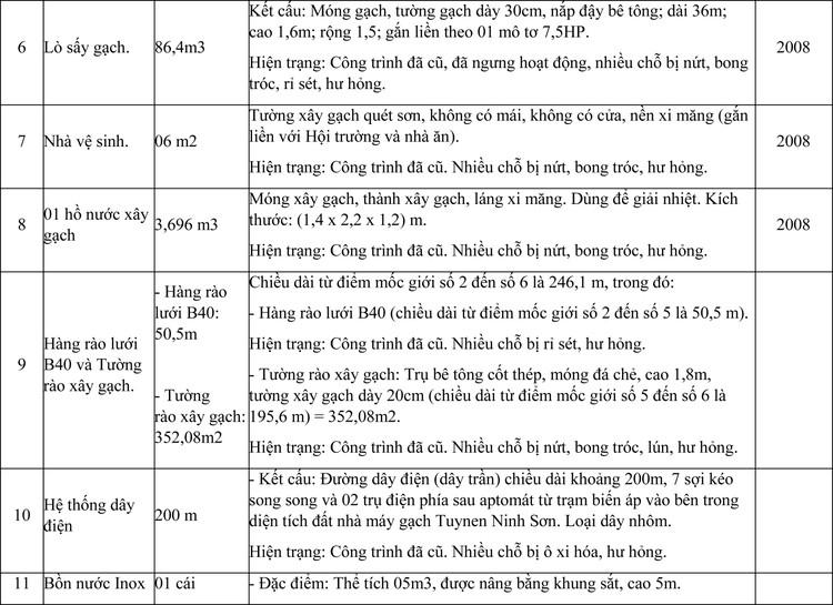 Ngày 4/6/2021, đấu giá quyền sử dụng đất thuê, công trình xây dựng và máy móc thiết bị tại huyện Ninh Sơn, tỉnh Ninh Thuận ảnh 4