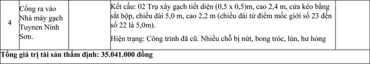 Ngày 4/6/2021, đấu giá quyền sử dụng đất thuê, công trình xây dựng và máy móc thiết bị tại huyện Ninh Sơn, tỉnh Ninh Thuận ảnh 6