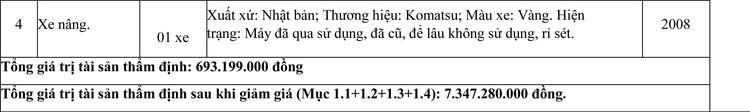 Ngày 4/6/2021, đấu giá quyền sử dụng đất thuê, công trình xây dựng và máy móc thiết bị tại huyện Ninh Sơn, tỉnh Ninh Thuận ảnh 10