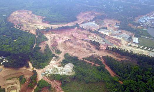 Phó Thủ tướng 'lệnh' xử lý dứt điểm việc xây biệt thự trên đất rừng ở Vĩnh Phúc ảnh 1