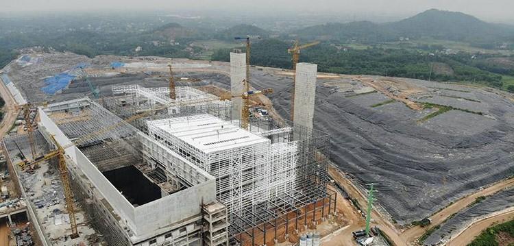 Cận cảnh nhà máy đốt rác Sóc Sơn 7.000 tỷ sắp đi vào hoạt động ảnh 6