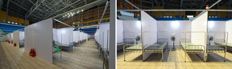 Cận cảnh Bệnh viện dã chiến 628 giường cùng 300 y bác sỹ ở Bắc Giang, sẵn sàng điều trị bệnh nhân Covid-19 ảnh 6