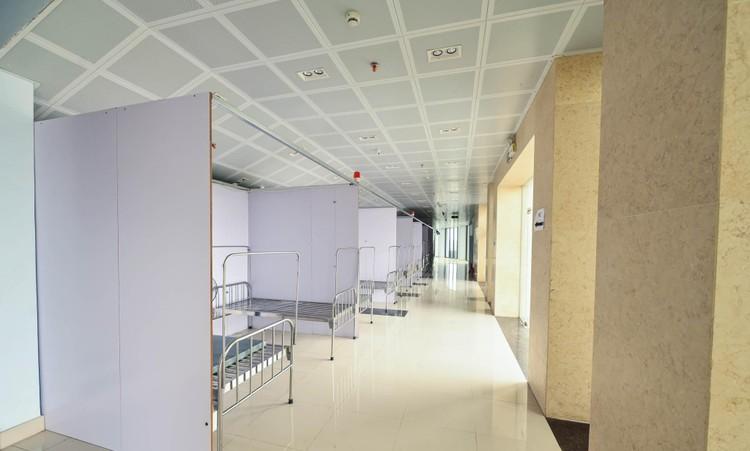 Cận cảnh Bệnh viện dã chiến 628 giường cùng 300 y bác sỹ ở Bắc Giang, sẵn sàng điều trị bệnh nhân Covid-19 ảnh 7