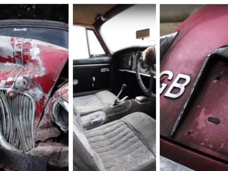 Xe Jaguar cổ méo mó, hư hỏng được đấu giá hơn 3,1 tỉ đồng ảnh 1