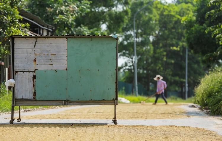 Hàng loạt chốt chặn phòng dịch ở ngoại thành Hà Nội ảnh 10