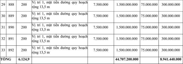 Ngày 14/6/2021, đấu giá quyền sử dụng đất tại thị xã Hương Thủy, tỉnh Thừa Thiên Huế ảnh 4