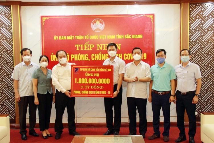 VNPT chung tay, hướng về Bắc Ninh và Bắc Giang ảnh 1