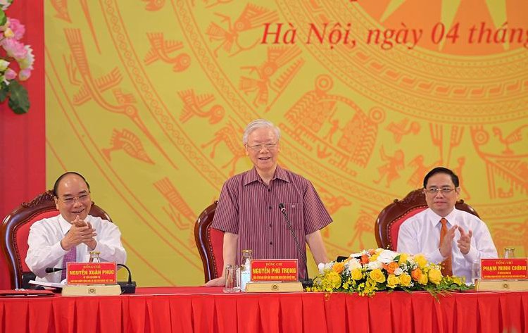 Tổng Bí thư, Chủ tịch nước và Thủ tướng tham gia Đảng ủy Công an Trung ương ảnh 1