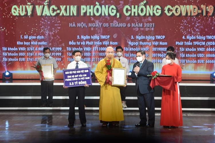 Lễ ra mắt Quỹ vaccine phòng chống COVID-19: Chung tay đẩy lùi đại dịch ảnh 11