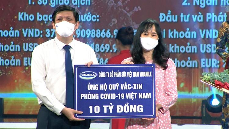 Vinamilk chung tay cùng Chính phủ, góp Quỹ vaccine phòng Covid-19 ảnh 1