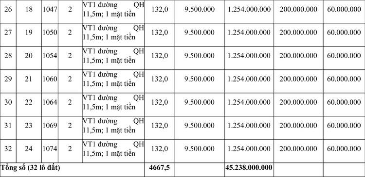 Ngày 21/6/2021, đấu giá quyền sử dụng đất tại thị xã Hương Trà, tỉnh Thừa Thiên Huế ảnh 4