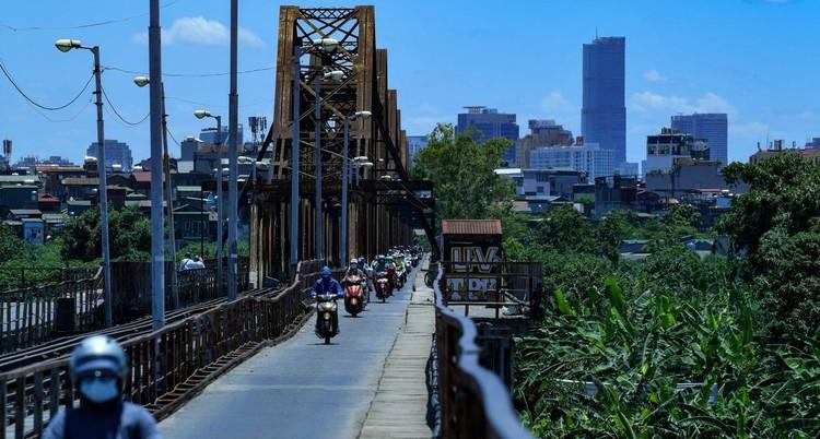 Đường phố Hà Nội thông thoáng, chỉ số về không khí tốt ảnh 16