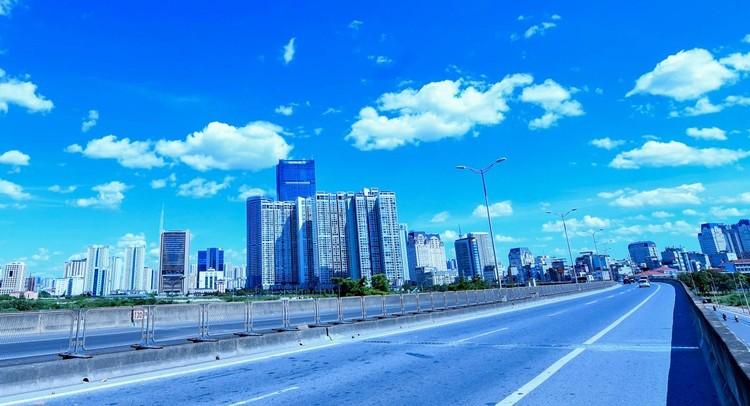 Đường phố Hà Nội thông thoáng, chỉ số về không khí tốt ảnh 3