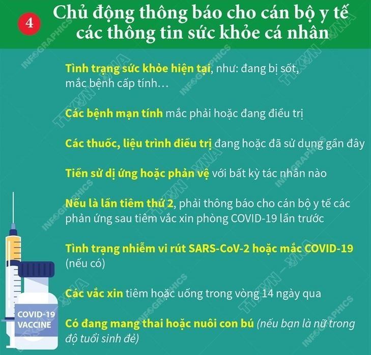 Những điều cần biết trước khi tiêm chủng vaccine phòng COVID-19 ảnh 4