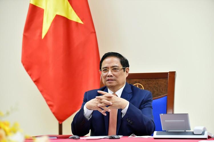 Thủ tướng Phạm Minh Chính đề nghị Đức hợp tác chuyển giao công nghệ vaccine COVID-19 ảnh 1