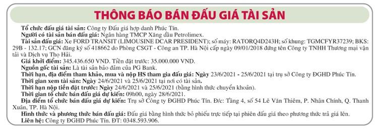 Ngày 28/6/2021, đấu giá xe ô tô Ford tại Hà Nội ảnh 1