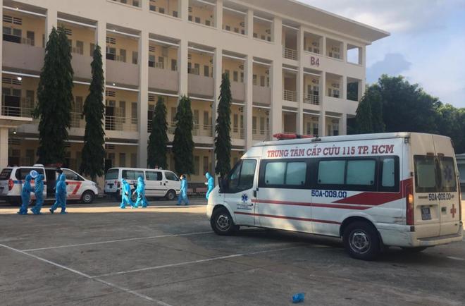 Bệnh viện dã chiến số 1 ở TP.HCM bắt đầu hoạt động ảnh 1