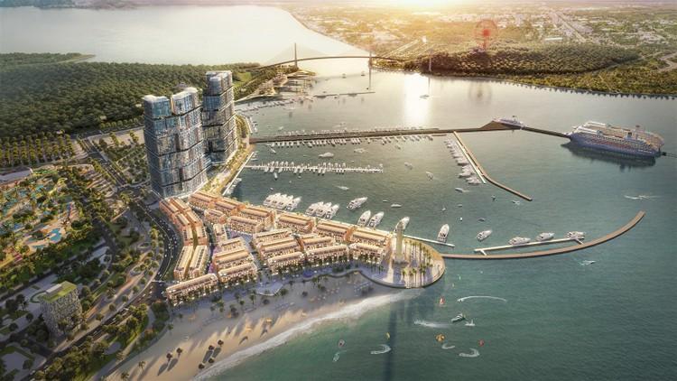 """Tòa tháp mới """"cực phẩm"""" tại Tổ hợp Sun Marina Hạ Long bên Vịnh Du thuyền chính thức ra mắt ảnh 3"""