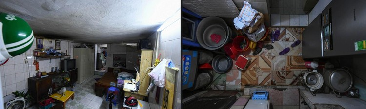 """Nhà biến thành """"hầm"""" ẩm thấp, dột nát tại chung cư tập thể cũ Hà Nội ảnh 4"""