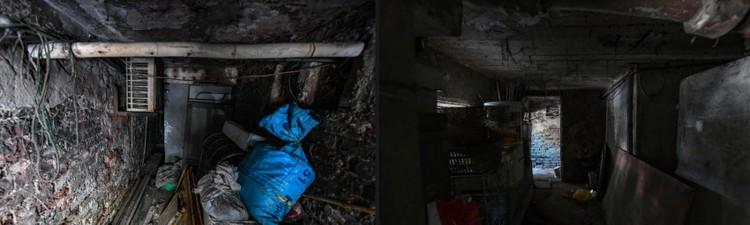 """Nhà biến thành """"hầm"""" ẩm thấp, dột nát tại chung cư tập thể cũ Hà Nội ảnh 6"""