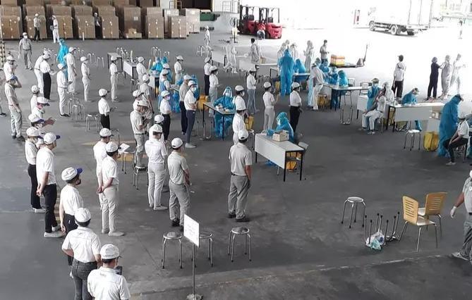 Tạm dừng hoạt động Công ty TNHH Nidec Sankyo để phòng chống dịch Covid-19 ảnh 1