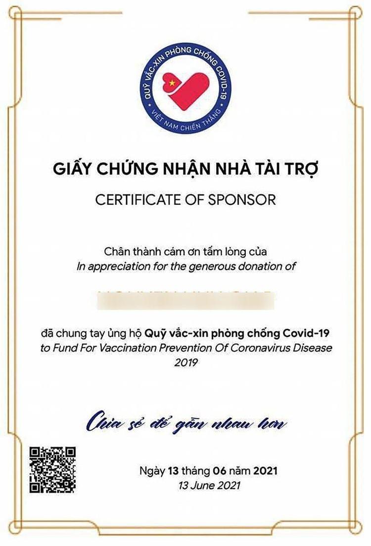 Chung tay góp Quỹ Vaccine Covid-19 dễ dàng qua website vì một Việt Nam khoẻ mạnh ảnh 7