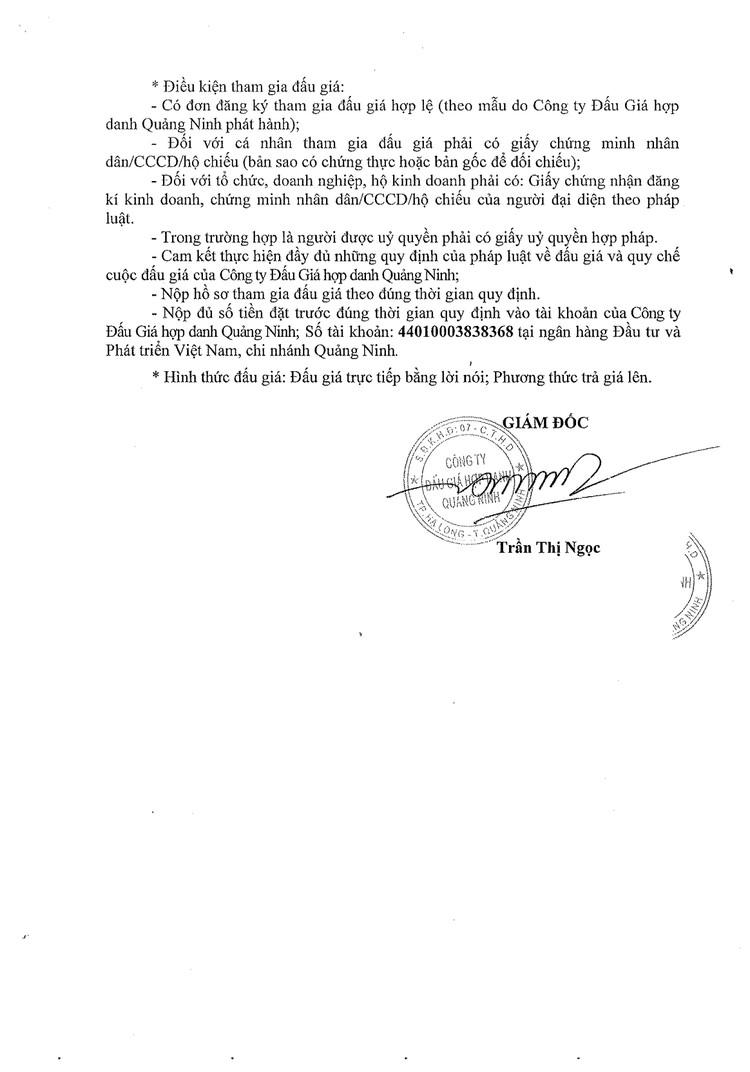 Ngày 26/7/2021, đấu giá 02 xe ô tô tại tỉnh Quảng Ninh ảnh 3