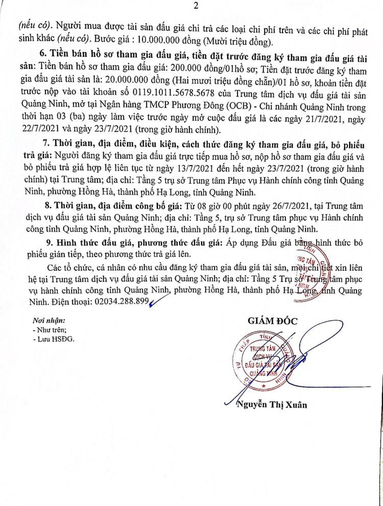Ngày 30/7/2021, đấu giá 5 xe ô tô tại Hà Nội ảnh 4