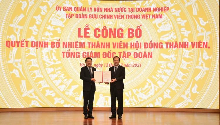 Ông Huỳnh Quang Liêm được bổ nhiệm làm Tổng Giám đốc VNPT ảnh 2