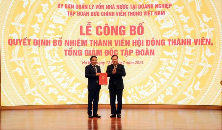 Ông Huỳnh Quang Liêm được bổ nhiệm làm Tổng Giám đốc VNPT ảnh 1